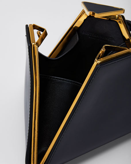 Spazzolato Triangle Clutch Bag