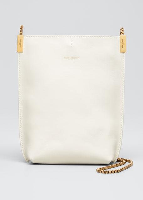 Suzanne Mini Leather Hobo Bag