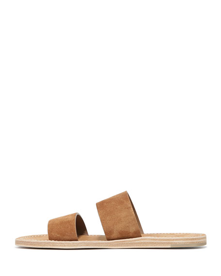 Travis Suede Two-Band Slide