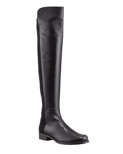 50/50 Napa Stretch Over-the-Knee Boot  Black