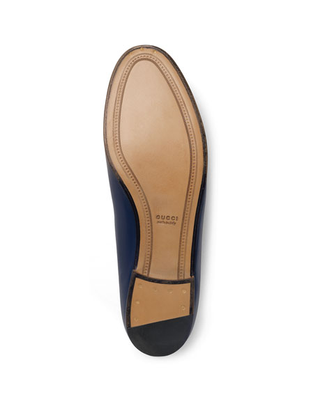 Flat Leather Loafer