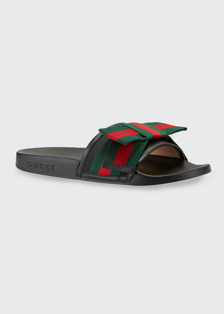 Flat Pursuit Web Slide Sandal