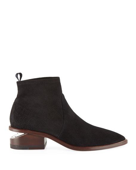 Kori Suede Tilt-Heel Boot