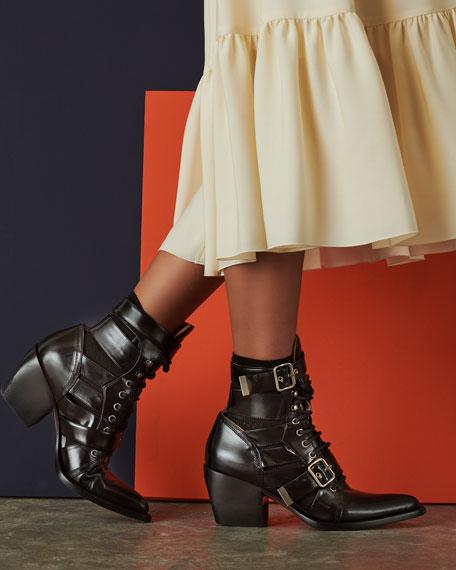 Riley Lace-Up Box Calf Boot