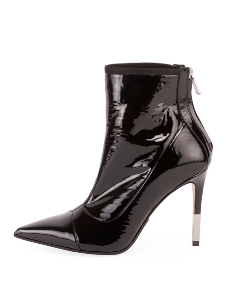 Blair Patent Leather 95mm Booties