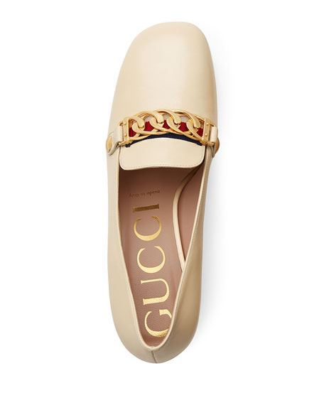 dc36062cb4f Gucci Sylvie Leather 55mm Loafer