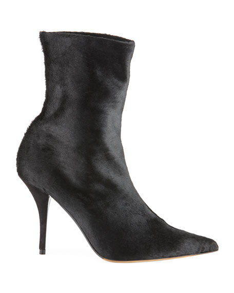 Eldon Stretch Fur Booties