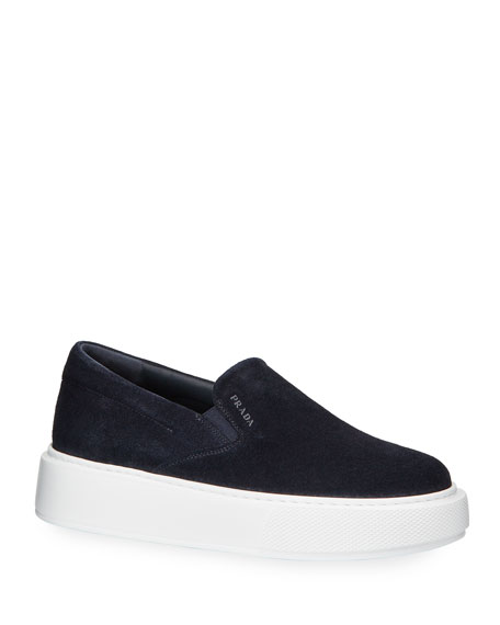 Image 1 of 1: Sport Suede Slide Sneakers