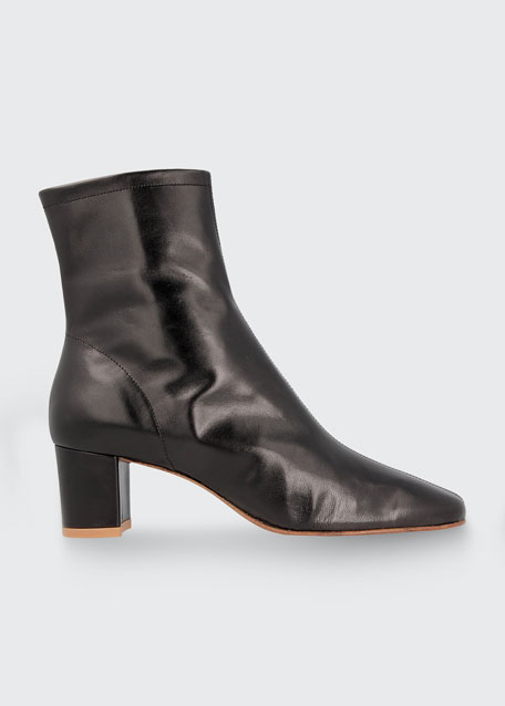 Image 1 of 1: Sofia Leather Ankle Booties
