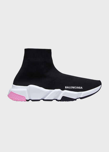 Speed Knit Chunky Sneakers by Balenciaga