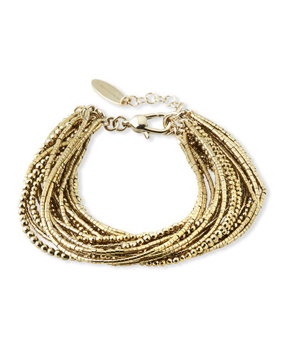 Beaded Multi-Strand Bracelet