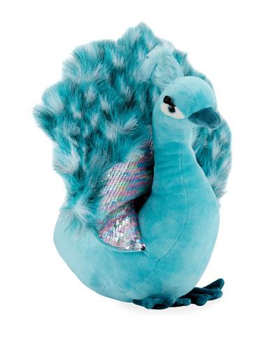 Payton Plush Peacock  12