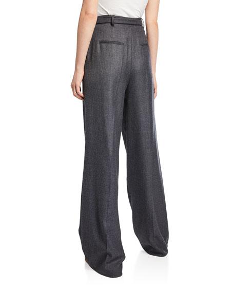 Vargas Cashmere Pleated Pants