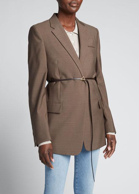 Wool Melange Jacket