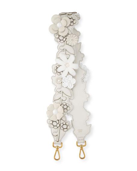 Strap You Inlaid Floral Shoulder Strap for Handbag