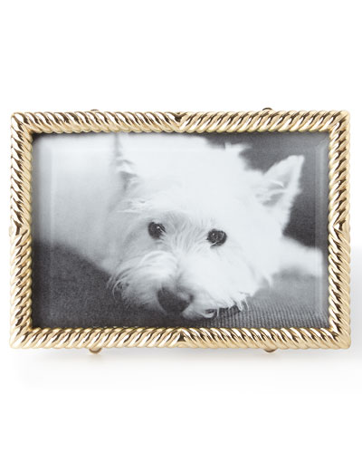Gold Deco Twist 4 x 6 Picture Frame