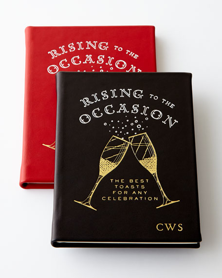 Rising to the Occasion Book, Personalized
