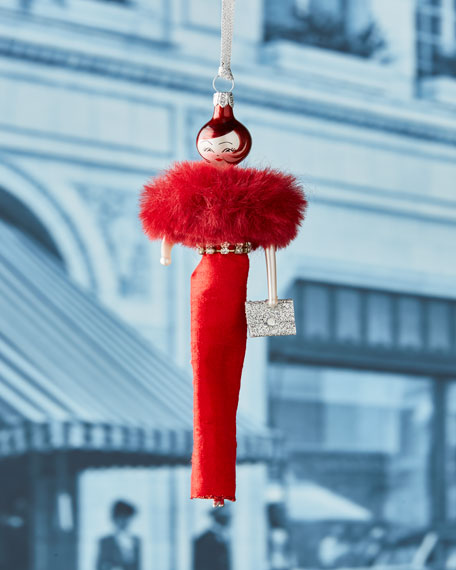 Vivianna Red Gown Ornament