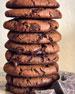Vegan Triple Chocolate Chunk Cookies, 8-Pack