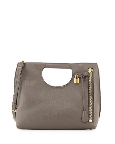 Alix Leather Padlock & Zip Tote Bag