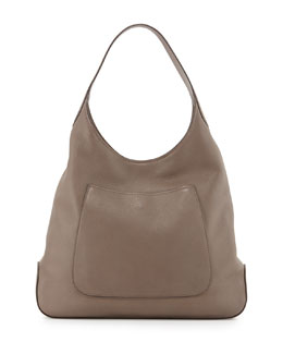 Cervo Single Front Pocket Hobo Bag