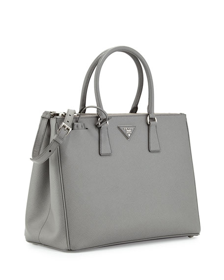 e4474cca2129 Prada Saffiano Executive Tote Bag w/ Strap