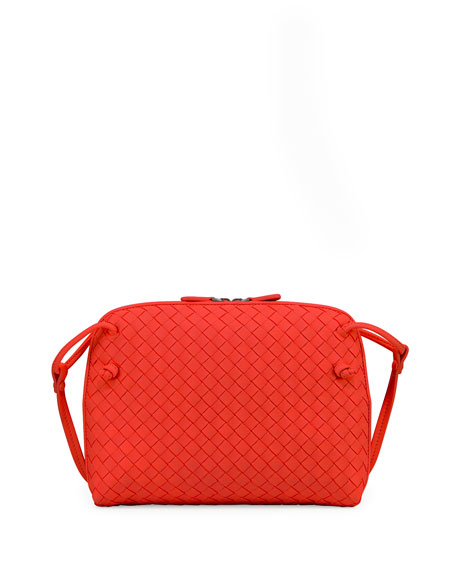 7592c51109c5 Bottega Veneta Intrecciato Small Crossbody Bag