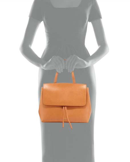 Vegetable-Tanned Leather Mini Lady Bag