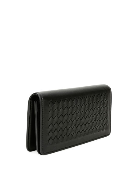Intrecciato Flap Wallet-on-Chain