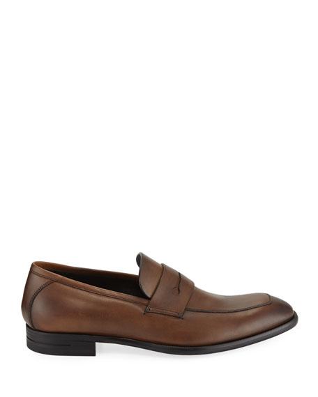 Men's New Flex Leather Penny Loafer