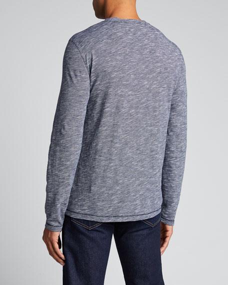Men's Long-Sleeve Crewneck Shirt