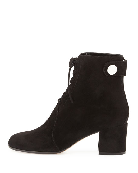 Finlay Mid Suede Lace-Up Bootie
