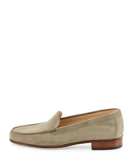 Suede Venetian Loafer