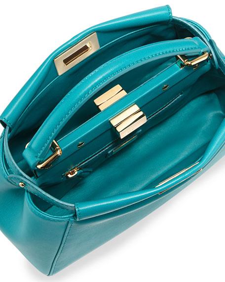 Peekaboo Mini Leather Satchel Bag