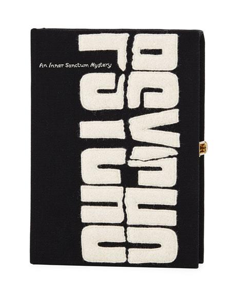 Psycho Book Clutch Bag, Black
