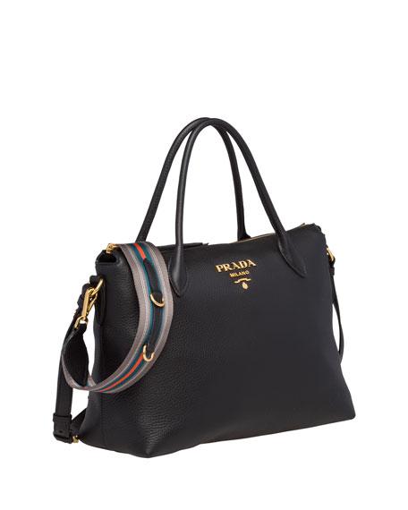 Prada Daino Medium Leather Tote Bag 15ada501d0