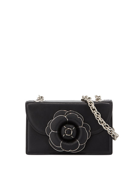 Tro Mini Saffiano Crossbody Bag