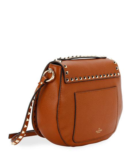 Rockstud Small Saddle Crossbody Bag