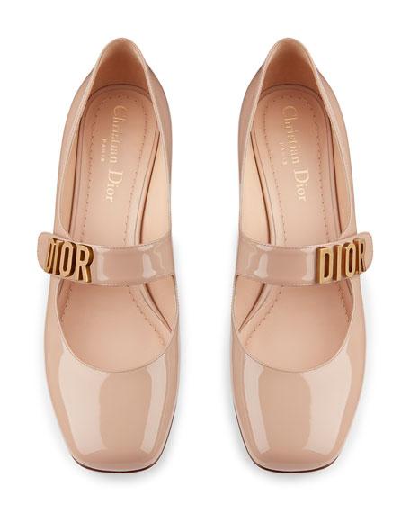 de64410e155 Dior Baby-D Patent Calfskin Ballet Pump