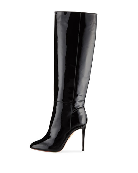 Brera Knee-High Patent Boot