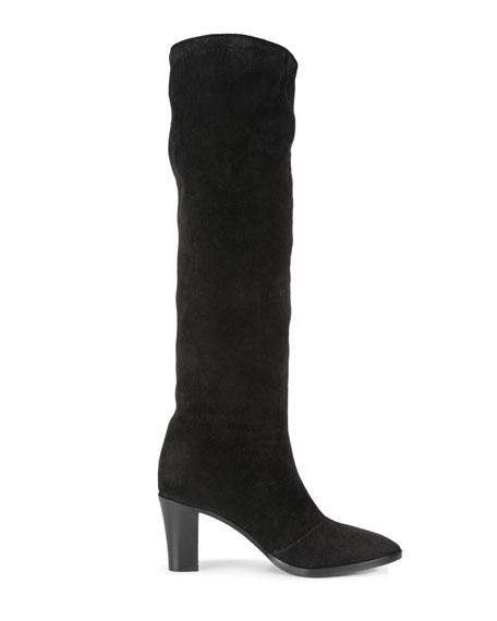 Casper Suede Knee Boots