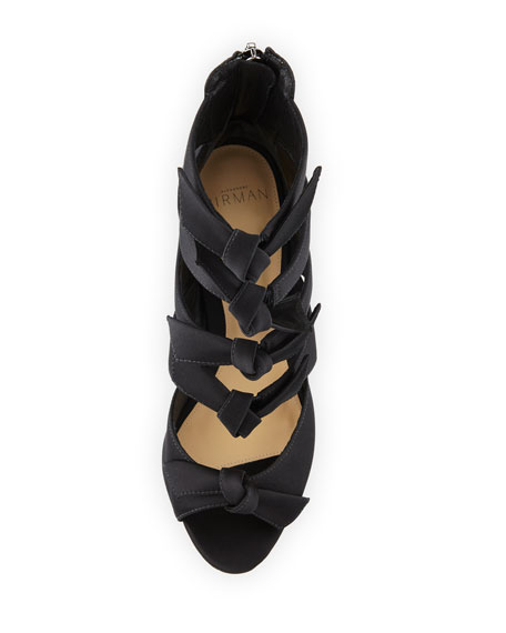 Fetish Satin Bow Sandals