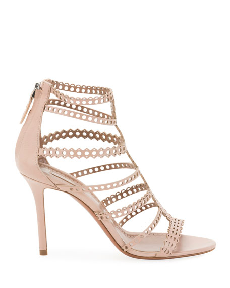 Vienne Cutout Caged Sandals