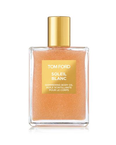 Soleil Blanc Rose Gold Shimmering Body Oil  3.4 oz./ 100 mL