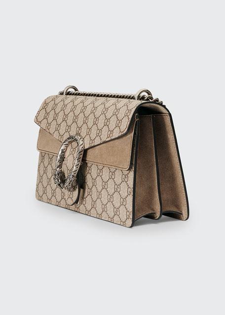 Dionysus GG Supreme Small Shoulder Bag