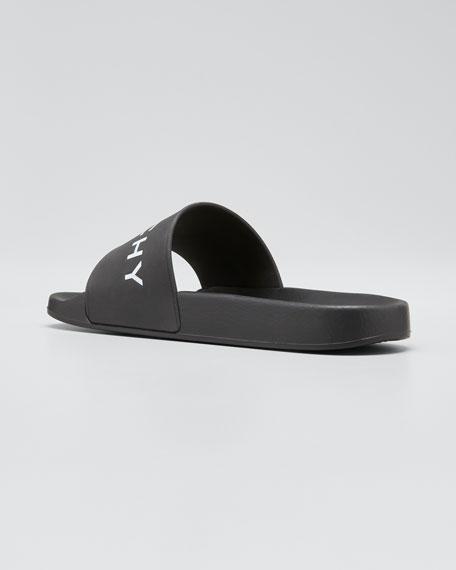 Logo Rubber Sandal Slide