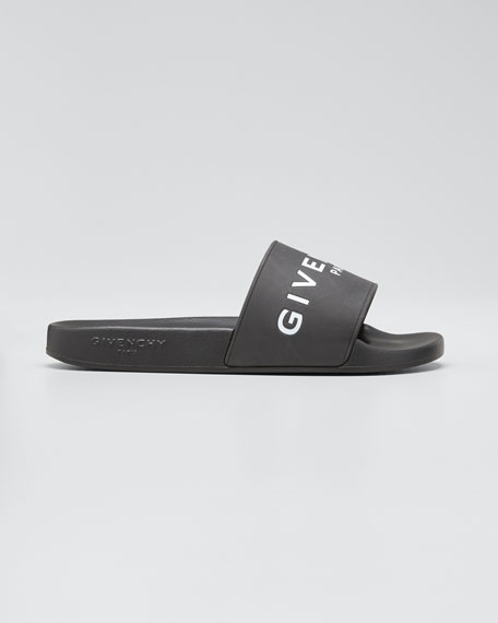 2018 New Cheap Online Store Givenchy Rubber Slide Sandals Great Deals Cheap Price Best Place Cheap Price ES30O