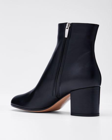 Block-Heel Ankle Booties