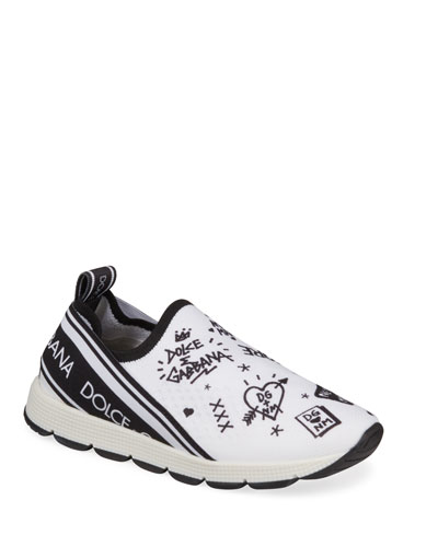 DG + NM Maglina Slip-On Knit Logo-Patch Sneakers  Toddler and Matching Items