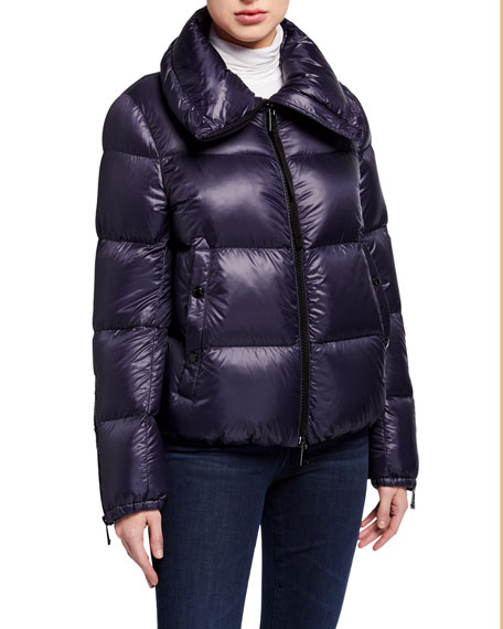 Bandama Zip-Sleeve Puffer Coat